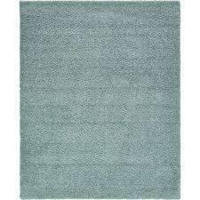 solid slate blue 8 ft x 10 ft area rug