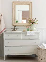 Brilliant Rustic White Bathroom Vanities Full Size Pretty Cottage With Vintage Throughout Concept Design