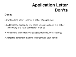 On How Write Application Letter Job 20 Application 20 Letter ...