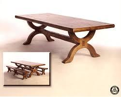 custom made 422 knotty alder dining table