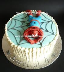 Spiderman My Homemade Cakes