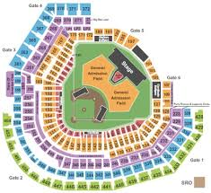 Busch Stadium Tickets Seating Charts And Schedule In St