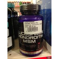 glucosamine chondroitin msm ultimate nutrition 90 tab