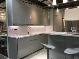 Ikea Ringhult Gloss Light Grey Kitchen Light Grey Kitchens Grey Gloss Kitchen Grey Kitchens
