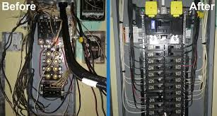 fuse box upgrade to circuit breaker in omaha nebraska this fuse box was replaced a circuit breaker offering a much cleaner and easier to