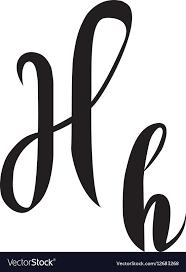 H C Shield Crete Color Chart Alphabet Letter H Lettering Calligraphy Manuscript