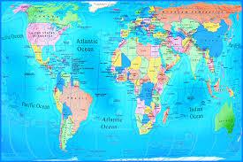 world geography map new world geography map  roundtripticketme