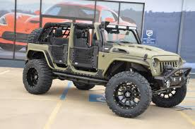 2018 jeep wrangler unlimited kevlar army tactical sport tomball tx
