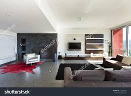 Modern Style Living Room Beautiful House Modern Style Living Room Stock Photo 114222355