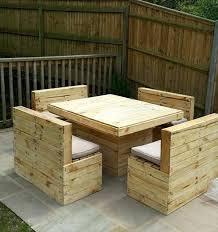 wood pallet outdoor furniture. Pallet Garden Bench Patio Table And Set Diy . Wood Outdoor Furniture