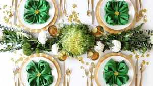 Irish Table Settings Host A St Patricks Day Lunch Of Healthy Greens Martha Stewart