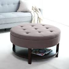 coffee table square tufted ottoman round storage large cocktail wonderful size of black leather oval diy tabl