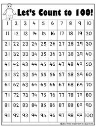 100 Chart Free Lets Count To 100 Chart