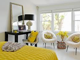Black White And Yellow Bedroom Ideas 3