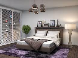 Fotos Schlafkammer 3dgrafik Innenarchitektur Bett Lampe Teppich