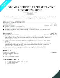 Example Resume Skills Cool Resume Examples For Call Center Customer Service Representative This