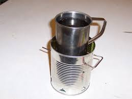 How To Light Sterno Cans Tin Can Sterno Stove 8 Steps Instructables