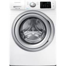 samsung washer machine 4 2 cu ft front load with steam in white energy
