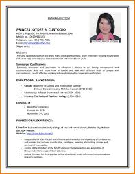 Cv For Part Time Job Sample Resumes First Time Job Seekers Attractive How To