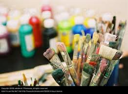 colour leisure and hobbies painting and drawing object creativity paintbrush