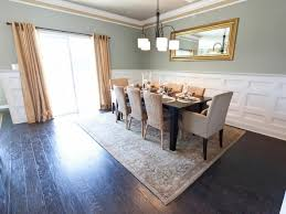 Dp Nile Johnson Gray Contemporary Table Dining Room H Rend Hgtvcom ...
