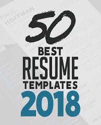 Free Resume Templates 2018 Inspiration 28 Best Resume Templates For 28 Design Graphic Design Junction