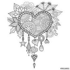 Small Picture Dream catcher coloring page Zentangles Adult Colouring