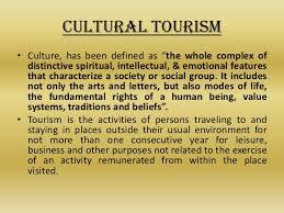 cultural tourism in  6 • cultural tourism