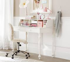 accessories home office tables chairs paintings. Home Design, Traditional Girls White Desk And Hutch With Carved Feet Combined Soft Chair Accessories Office Tables Chairs Paintings W