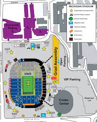 Stadium Map Spring Commencement