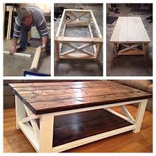 perfect diy wood coffee table and best 25 homemade coffee tables ideas on home design diy table