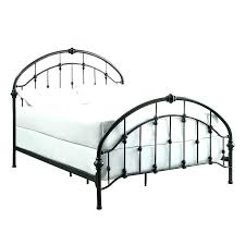 black metal bed frame full wrought iron queen home design picture frames 16 x 20