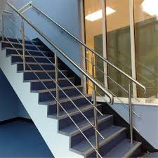 Railing Design Hot Item Ss304 Solid Rod Stainless Steel Railing Design For Balcony Stairs