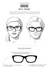 faceshape guide thelook round frames for round faces