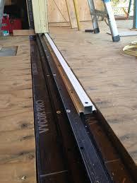 sliding patio door threshold replacement saudireiki