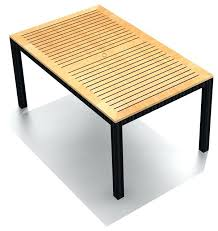 arbor outdoor wicker teak 8 rectangular dining table seater setting perth contemporary tables