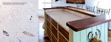 custom concrete countertops floors and bathrooms christopher building company