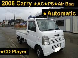 Japanese Used SUZUKI CARRY TRUCK 2005 Pickup for Sale