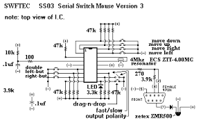 ss03 serial switch input mouse controller the switches are wired a common negative pull down to activate external circuitry can also be used in place of switches so the mouse controller can
