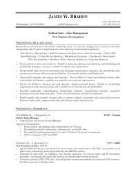 Medical Device Sales Resume Examples Nmdnconference Com Example