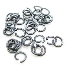 Amazon Com Bead Union Sterling Silver Jump Rings 4mm Open
