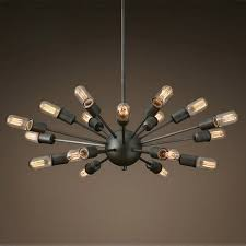 black metal chandelier. Black Wrought Iron Chandelier Lighting Vintage Metal Large Antique With 18 Lights Painted Finish E27-in Chandeliers From E