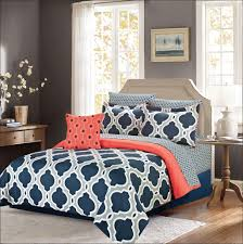 bedroom blue and brown bedding fresh room ideas interior orange and navy forter plaid bedding