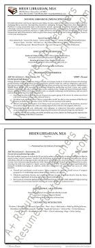 school librarian resume example librarian resume examples