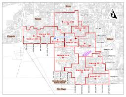 Fire Stations Facilities Map City Of Chandler