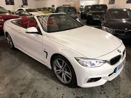 BMW Convertible bmw 4 series convertible white : Used Bmw 4 Series Convertible 3.0 435i M Sport 2dr in Colwick ...