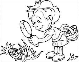 5 Senses Coloring Pages | Wecoloringpage