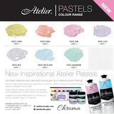Atelier Acrylic Colour Chart Some Paint Outs Of The New Atelier Pastels Which Is Your