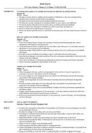 Sample Resume For Aldi Retail Assistant Retail Assistant Store Manager Resume Resume For Study 60