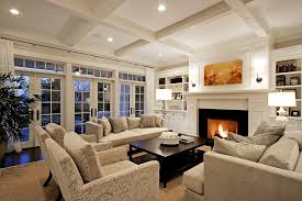 traditional living room ideas with fireplace. Built Ins Around Fireplace Living Room Traditional With Curtain Panels Coffee Table Ideas